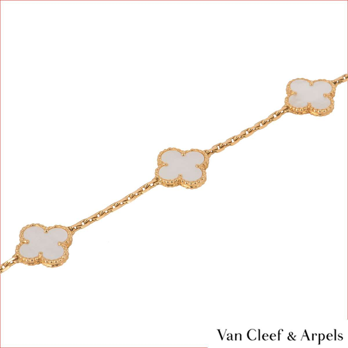 Van Cleef & Arpels Yellow Gold Vintage Alhambra Long Necklace VCARA42100